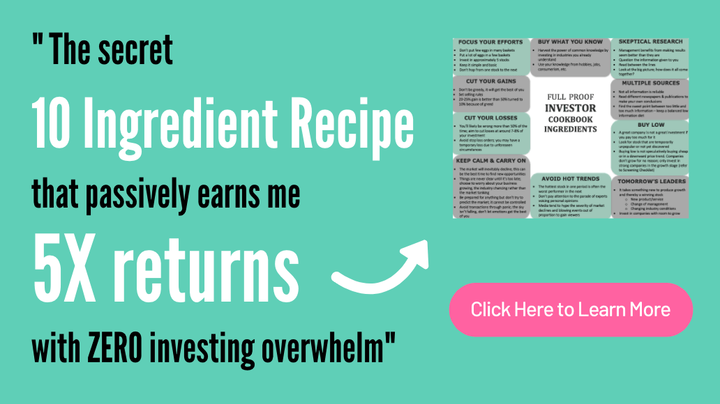 10 Ingredient Recipe successful investing