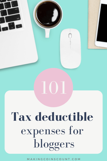 As a blogger, you may be entitled to more tax deductions than you realize. Here are 101 tax-deductible expenses for bloggers
